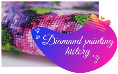 Diamond painting history